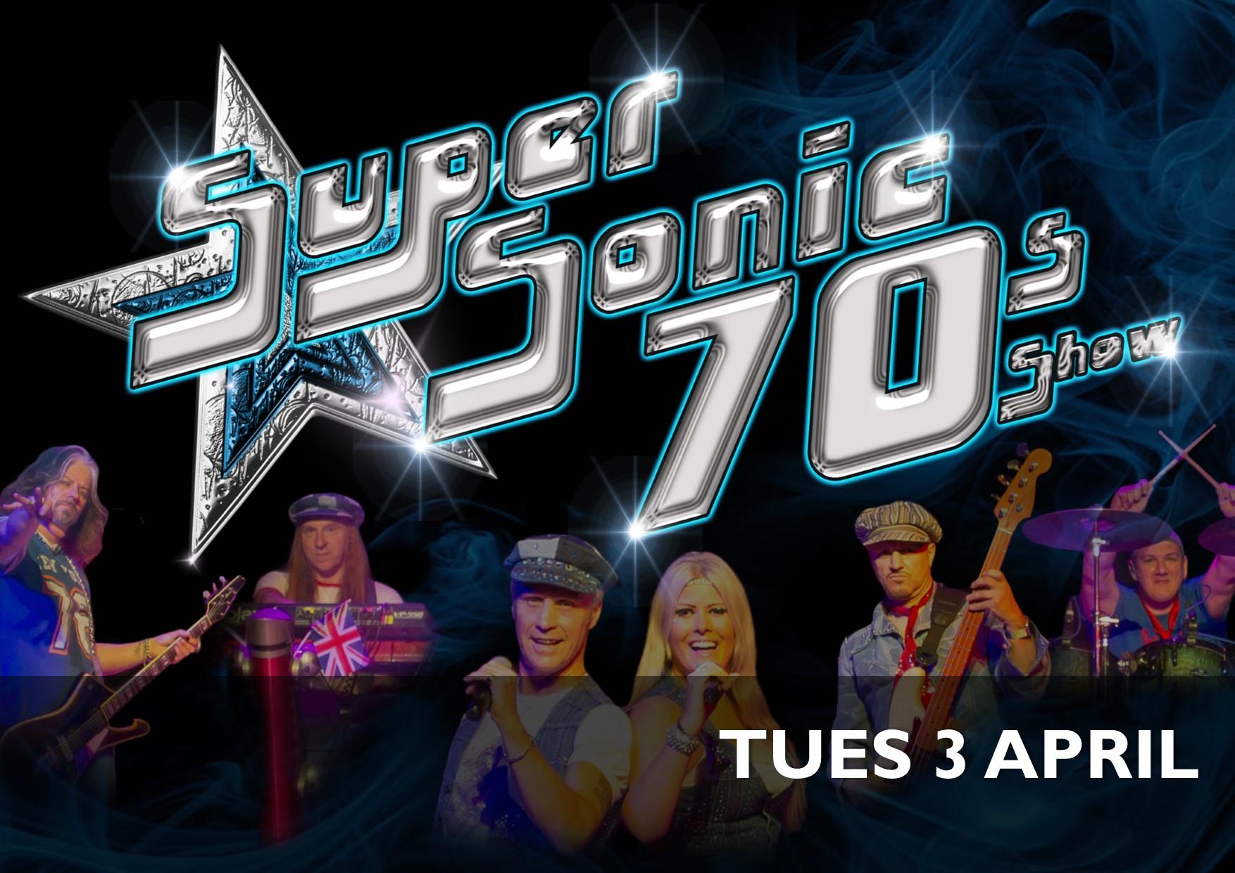 Supersonic 70s Show - 3 April